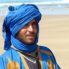 Tuareg on the beach by supergold