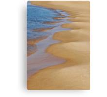 Shoreline Wavey Canvas Print