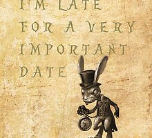 Alice in Wonderland - i'm late by MarcoMellark