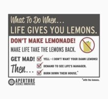 Portal- When Life Gives You Lemons (Everything but Stickers Version!) by ----User
