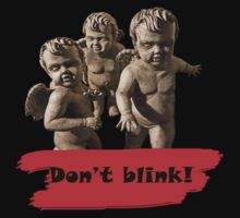 Mini Weeping Angels by Runehise