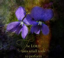 The Lord uses by vigor