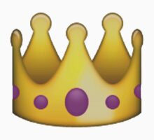 Crown emoji  by Chloe Hebert