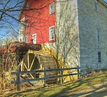 Bunker Hill Flour Mill by James Brotherton