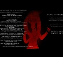 """Why Do I Kill?"" -- A's Answer (Twitch Plays Pokemon Emerald) by mindychinchilla"