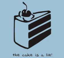 Portal- The Cake Is A Lie by ----User