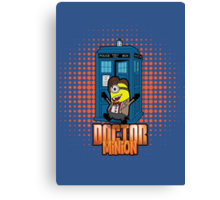 Doctor Minion 11 Canvas Print