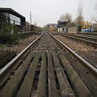 Train tracks by Jack McQuone