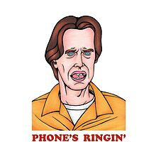 Phone's Ringin' Dude (Color) by Adam Campbell