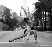Street Ballerina 10 by Nigel Donald