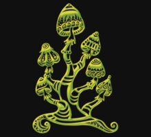 Magic mushrooms, Plants of the Gods, psychedelic, Trance Goa Psy  by nitty-gritty