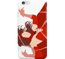 Scarlet Witch (Simplistic)  iPhone Case/Skin