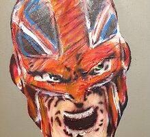 Alan Davis' Captain Britain, colour by Lukenotdave