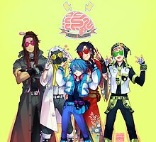 (CLEAN Version) DRAMAtical Murder - Five Guys by marburusu