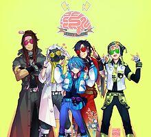 (CLEAN Version) DRAMAtical Murder - Five Guys by marburusu