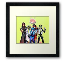 (CLEAN Version) DRAMAtical Murder - Five Guys Framed Print