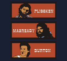 Plissken - MacReady - Burton by CarloJ1956