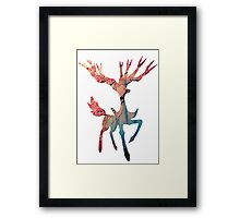 Xerneas used Geomancy Framed Print
