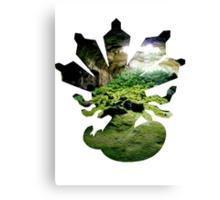 Zygarde used Camouflage Canvas Print