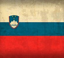 Slovenia flag by flaglover