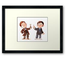 Screwdriver Envy - Doctor Who Inspired Art Framed Print
