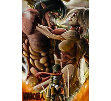 AOT - Clash of the Titans Photographic Print