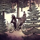 Two Gentlemen in the Forest by Paula Belle Flores