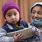 Ladakhi woman and child by Christian Wilson