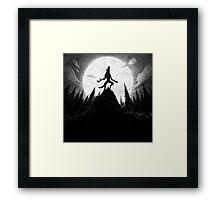 Drawlloween 2013: Werewolf Framed Print