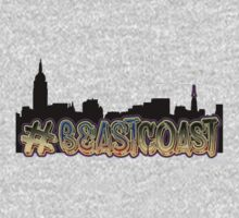 #BeastCoast Graffiti on New York Skyline by coolGEORGE