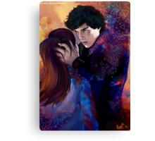 Sherlock and Molly Canvas Print