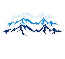 High beautiful mountains by Style-O-Mat