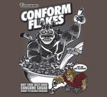 Conform Flakes (BLACK & WHITE ED.) by Punksthetic