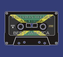 Rastaman reggae lion record by extracom
