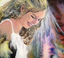 My Daughter Gwen on her wedding day by Shirlroma