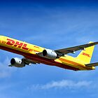 DHL Boeing 757- 236SF by Andrew Harker
