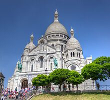 Sacre Coeur, Paris 5 by John Velocci