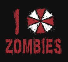 I love Zombies by ddjvigo