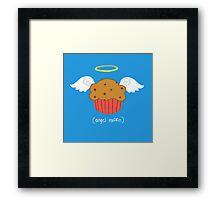 Angel Muffin  Framed Print