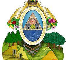 Coat of Arms of Honduras  by abbeyz71