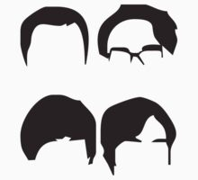 Big Bang Theory Hair by penguinua