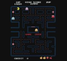 Pac Man Board by bruiseviolet77