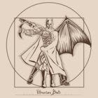 Vitruvian Bats ( Batarang Version) by Samiel