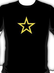 Gold Star Open T-Shirt