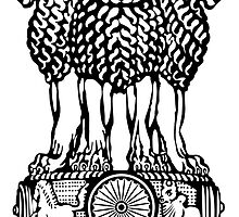 Emblem of India  by abbeyz71