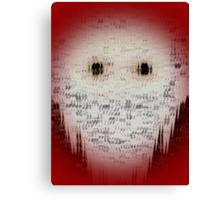 Ghost Eyes Canvas Print