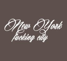 New York F****** City by WAMTEES