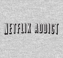 Netflix Addict Kids Clothes