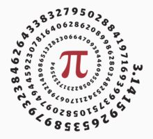 Pi π Galaxy Science Mathematics Math Irrational Number Sequence by nitty-gritty