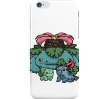 bulbasaur, ivysaur and VENUSAUR~!. iPhone Case/Skin